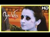 Nayaki Tamil Movie Scenes   Satyam Rajesh tries to escape   Trisha warns Satyam Rajesh   Sushma