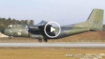 """Transall C-160D ESS - German Air Force """"Frieden allen Völkern"""" 50+55 - arrival at Manching Air Base [2160p25]"""