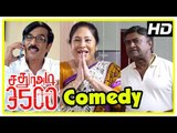 Sathura Adi 3500 Movie Comedy Scenes | Nikhil | Iniya | Kovai Sarala | MS Baskar | Manobala