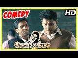 Deiva Thirumagal Comedy Scenes | Vikram | Santhanam | Anushka | Amala Paul | Santhanam Comedy Scenes