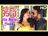 Sathura Adi 3500 Movie Scenes | Vin Mele Song | Manobala informs Akash is in love with Iniya