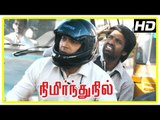 Jayam Ravi New Movie   Jayam Ravi Intro   Nimirnthu Nil Tamil Movie Scenes   Soori Comedy Scene