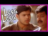 Lesa Lesa Movie Scenes ,  Vivek lies to Radha Ravi ,  Shaam helps Vivek ,  Sreenivasan