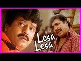 Vivek Ramesh Khanna Comedy ,  Lesa Lesa Movie Scenes ,  Trisha learns truth about Shaam