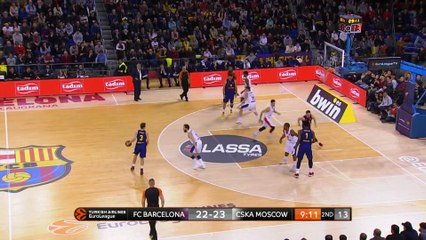 EuroLeague 2018-19 Highlights Regular Season Round 20 video: Barcelona 76-84 CSKA