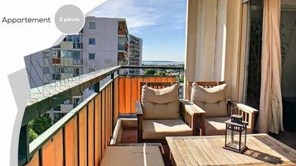 Appartement Antibes 2 pièce(s) 50 m2 en dernier étage et vue mer