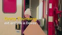 Greta Thunberg, une jeune militante écologiste au forum de Davos