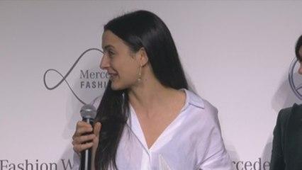 Melania Freire, ganadora del premio Mercedes-Benz Fashion Talent