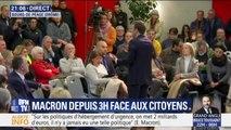 """Emmanuel Macron ne """"croit pas tellement"""" au référendum d'initiative citoyenne"""