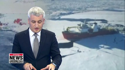 s korean ice breaking ship araon saves 24 chinese researchers stranded in antarctica
