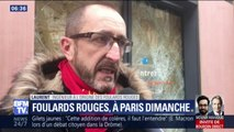 """Pourquoi les """"foulards rouges"""" appellent à manifester ce dimanche à Paris"""