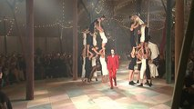 Clowns and gowns at Christian Dior's haute couture circus