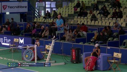 Buob vs Maras & Fruhvirtova vs Hui & Nestola vs Ghibaudo &  Fruhvirtova/Fruhvirtova vs Cross vs Hui & Coman vs Nawaf - Les Petits As  2019 - Centre Court (30)