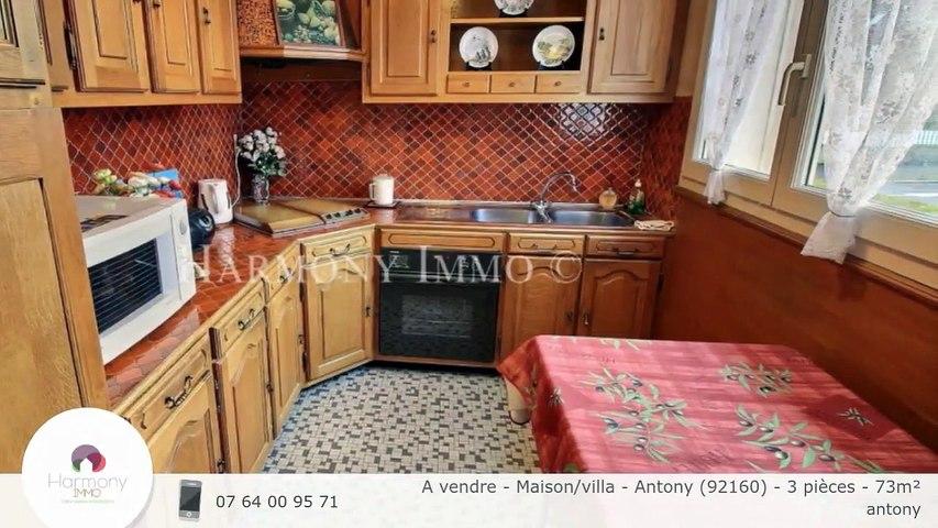 A vendre - Maison/villa - Antony (92160) - 3 pièces - 73m²