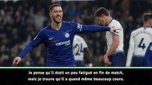 """League Cup - Sarri congratule """"un fantastique et magnifique Hazard"""""""