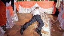 Hochzeits-Desaster: Bräutigam lässt Torte fallen