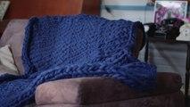 Comment tricoter une couverture XXL avec les mains ?