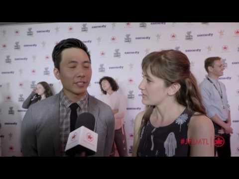 Just For Laughs Festival 2016 Backstage: Kelvin Yu and Noël Wells
