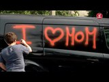 Kid Covers Car in Graffiti For His Mom