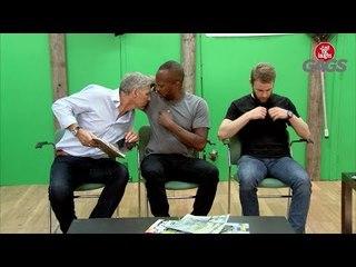 Men Smelling Each Other