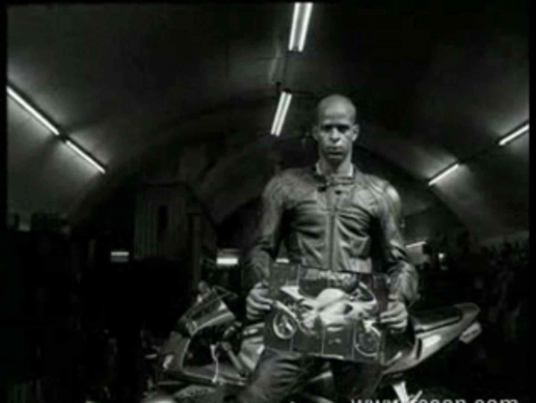 Recon black gay leather biker promo video