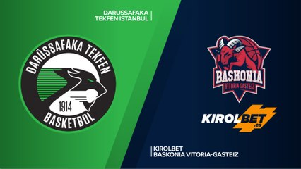 EuroLeague 2018-19 Highlights Regular Season Round 20 video: Darussafaka 80-75 Baskonia