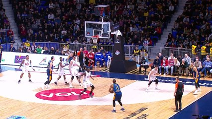 EuroLeague 2018-19 Highlights Regular Season Round 20 video: Buducnost 75-70 Gran Canaria