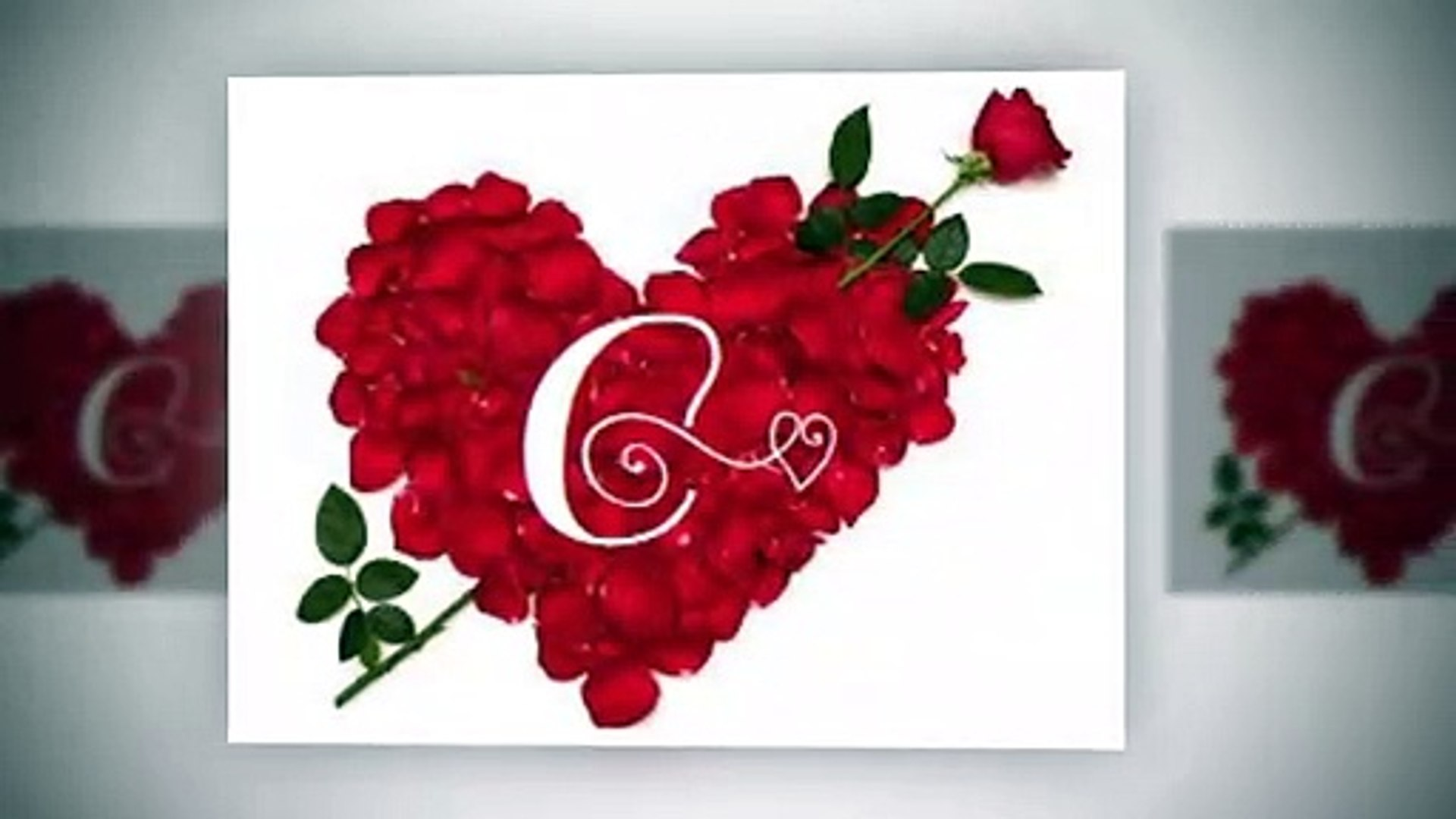 C Letter Whatsapp Status C Name Whatsapp Status With Cute Romantic Song Video Dailymotion