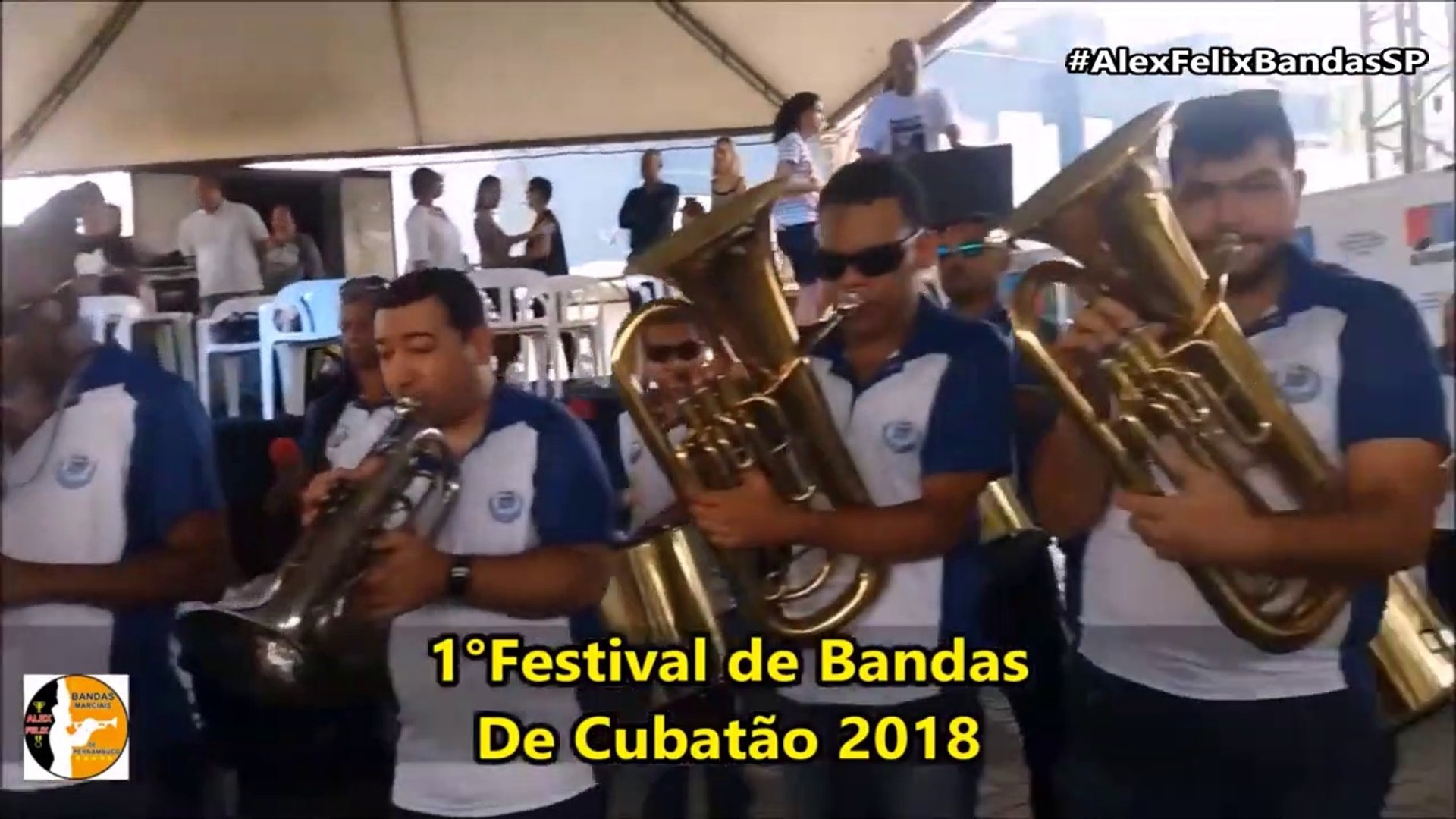 LMC - Banda Musical Lar das Mocas Cegas 2018 - 1° Festival de Bandas - Cubatão - #AlexFelixBandasSP