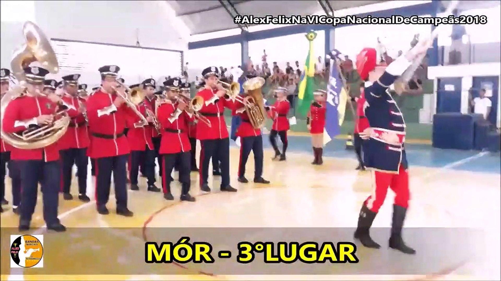 Resultado Banda Marcial Juvenil e Musical Master 2018 - VI Copa Nacional de Campeãs de Bandas