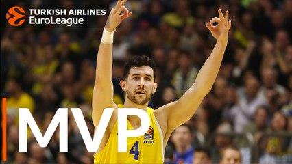 Round 20 MVP: Angelo Caloiaro, Maccabi FOX Tel Aviv