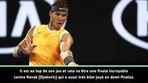 """Open d'Australie - Leconte promet """"une finale incroyable"""" entre Nadal et Djokovic"""