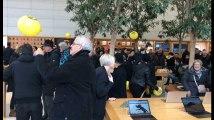 L'Apple store de Bruxelles, théâtre d'une flashmob d'activistes