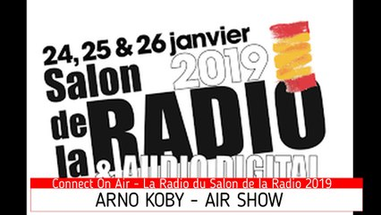 Interview Arno Koby - Le Salon de la Radio 2019