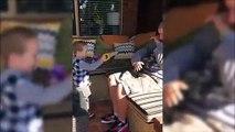 Ce papa fait une blague horrible à son jeune fils... Père indigne