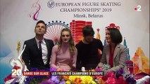Danse sur glace : les Français champions d'Europe