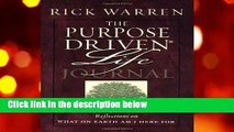 The Purpose Driven Life Journal (Purpose Driven Life)