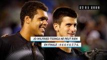 Il y a 11 ans - Novak Djokovic remportait son tout premier Grand Chelem
