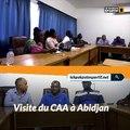 La visite du CAA pour les championnats d'athlétisme U18 et U20