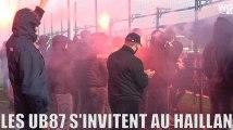 Les supporters des Girondins s'invitent au Haillan avant la demi-finale de Coupe de la Ligue face à Strasbourg