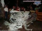 voiture de luxe accident crach casse