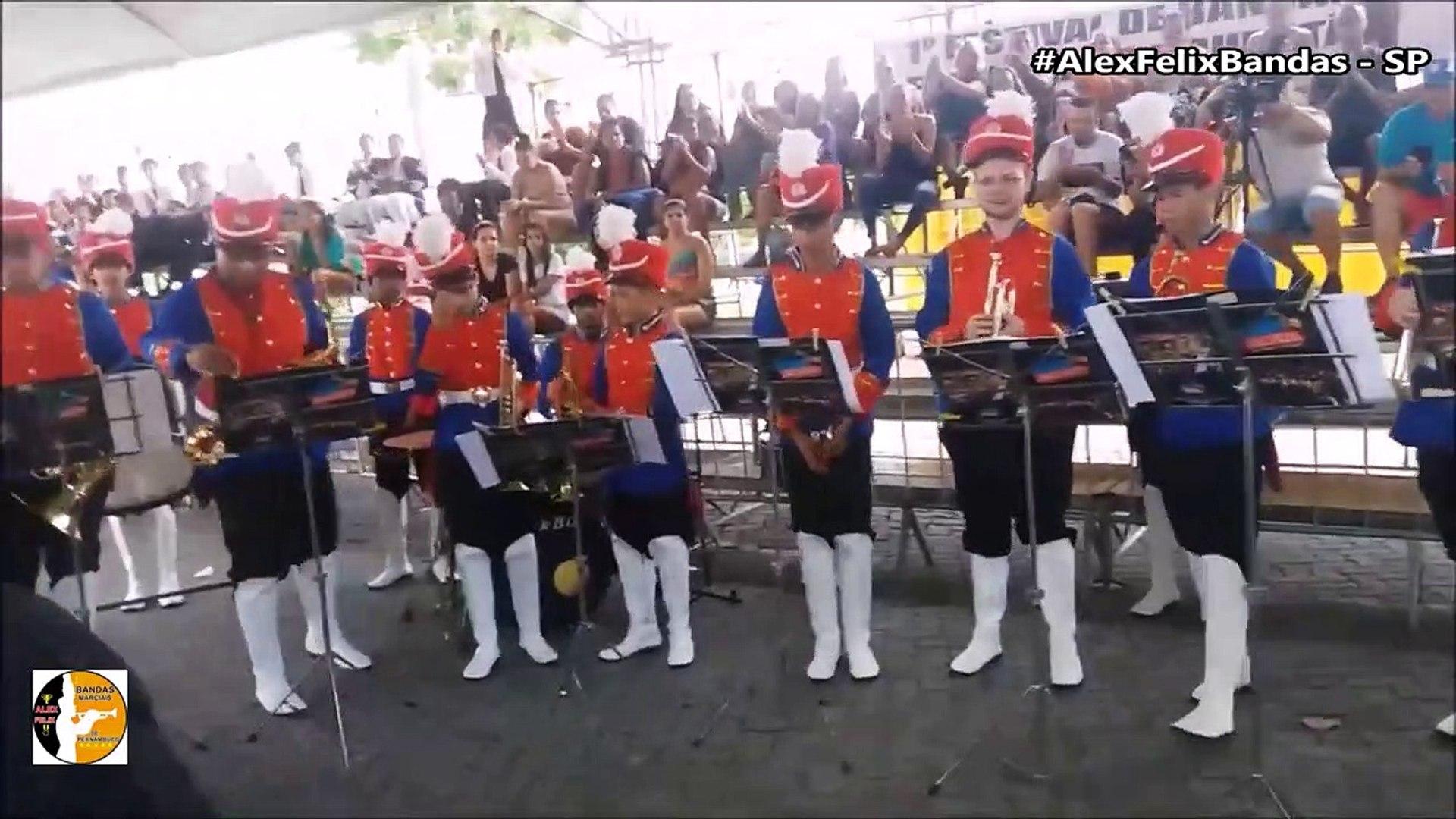 Banda Marcial Padre Jose de Anchieta - 1° Festival de Bandas - Cubatão 2018 - #AlexFelixBandasSP