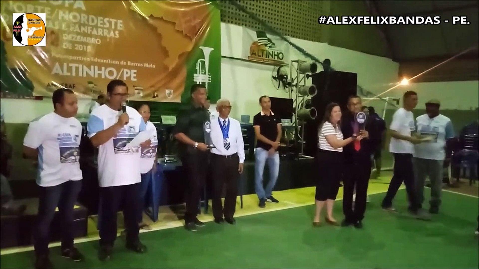 RESULTADO BANDA SHOW 2018 - XI COPA NORDESTE NORTE DE BANDAS E FANFARRAS - ALTINHO - PERNAMBUCO