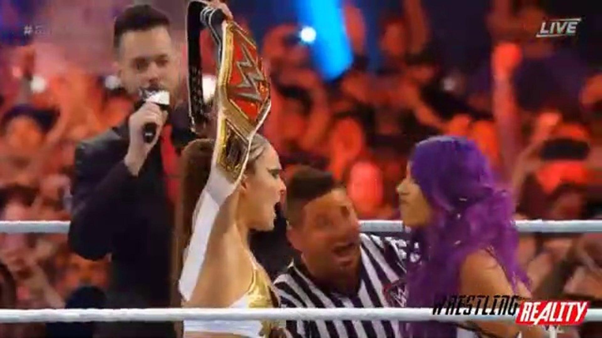 WWE Royal Rumble 2019 Highlights - WWE Royal Rumble 27-01-2019 Highlights