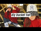 DIY Bucket Hat (Street Style Look) | Q2HAN