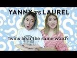 Yanny vs Laurel (Do Twins Hear the Same Word??)   Q-talk #5
