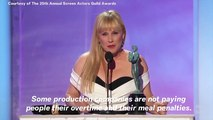 SAG Awards 2019: Patricia Arquette Thanks Robert Mueller During Her Acceptance Speech