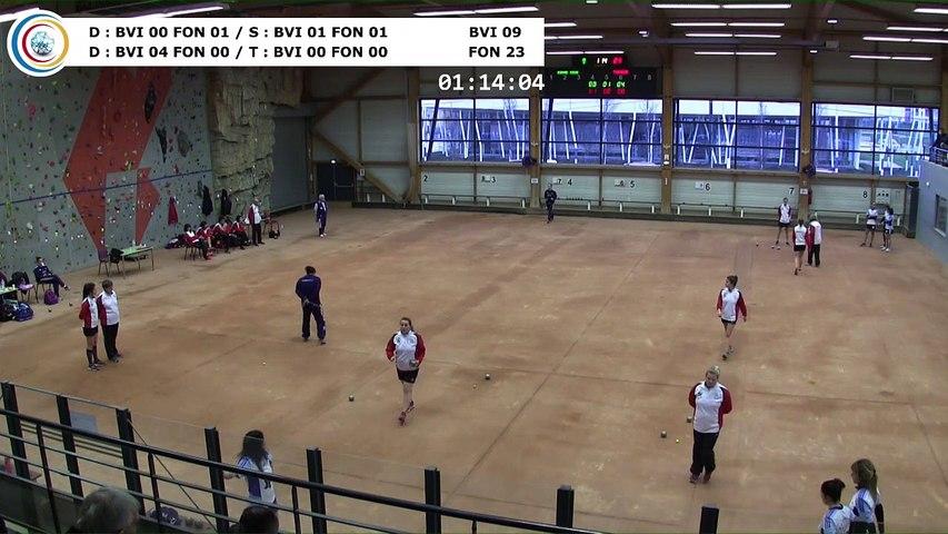 Quatrième tour, France Club Elite 1 Féminin, J3 groupe Titre,  Bievre Isère contre Fontaine,  saison 2018/2019