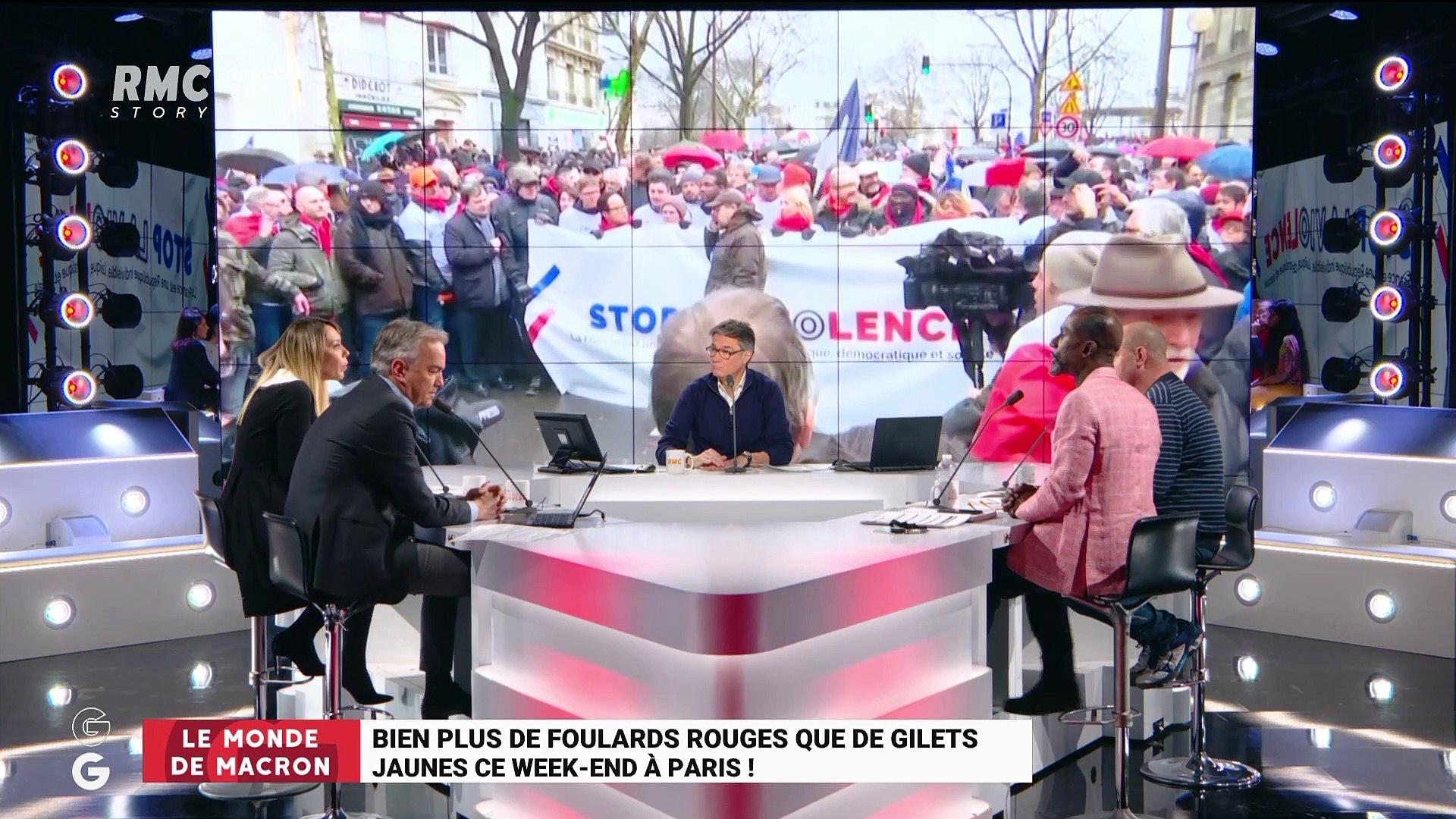 60% de réduction plutôt sympa plus grand choix de 2019 Le monde de Macron: Bien plus de Foulards rouges que de Gilets jaunes ce  week-end à Paris ! – 28/01