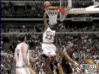 NBA BASKETBALL – mickael jordan dunks